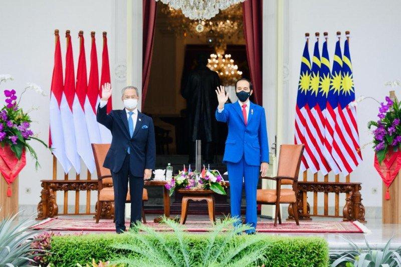 Jokowi - Muhyuddin tekankan stabilitas di Laut China Selatan