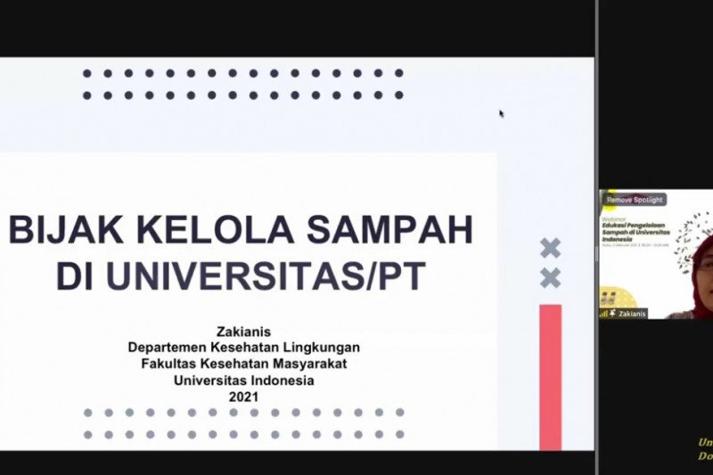 Universitas Indonesia ajak masyarakat bijak kelola sampah