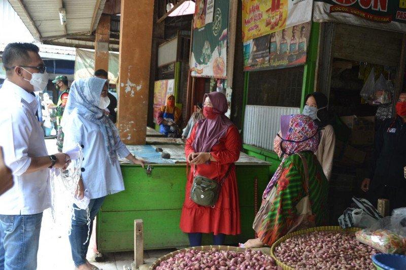 """Operasional pasar di Purbalingga dibatasi saat gerakan """"Jateng di Rumah"""""""