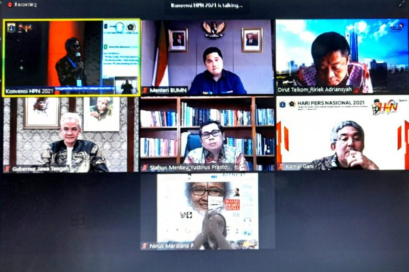 Erick Thohir: Perekonomian Indonesia jauh lebih ketimbang negara lain
