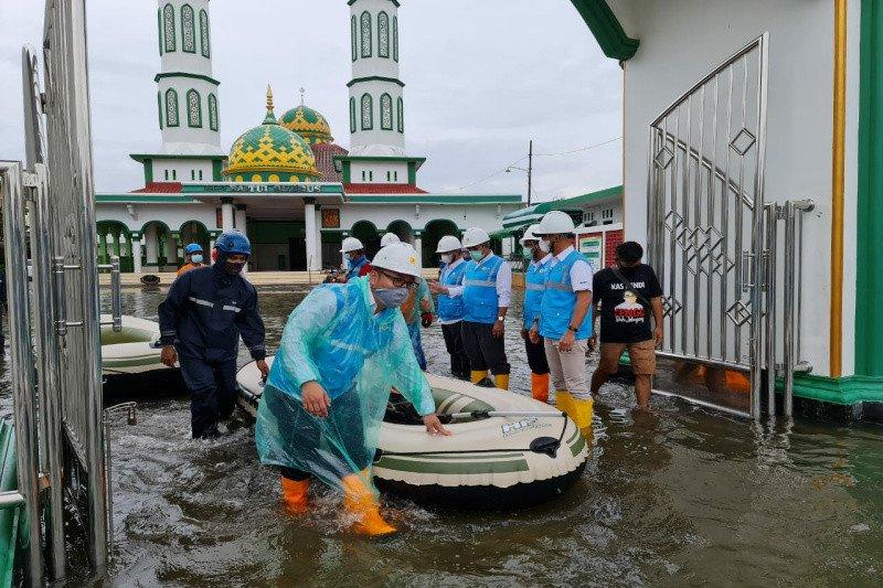 Banjir di Semarang, 92 persen sistem kelistrikan pulih