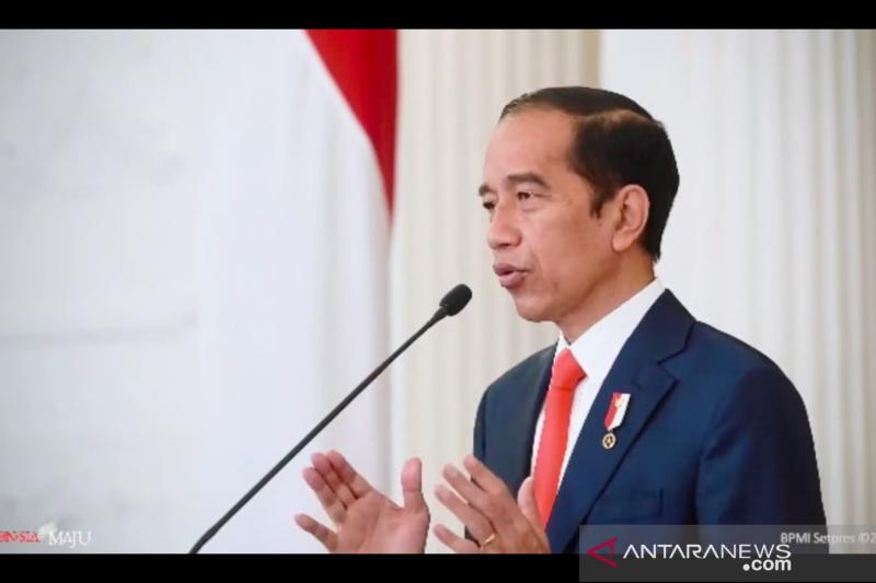 Presiden Jokowi: 5.000 vaksin COVID diberikan ke insan pers akhir Februari