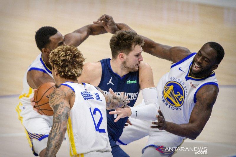 Luka cetak sejarah dalam kemenangan Mavericks atas Cavaliers