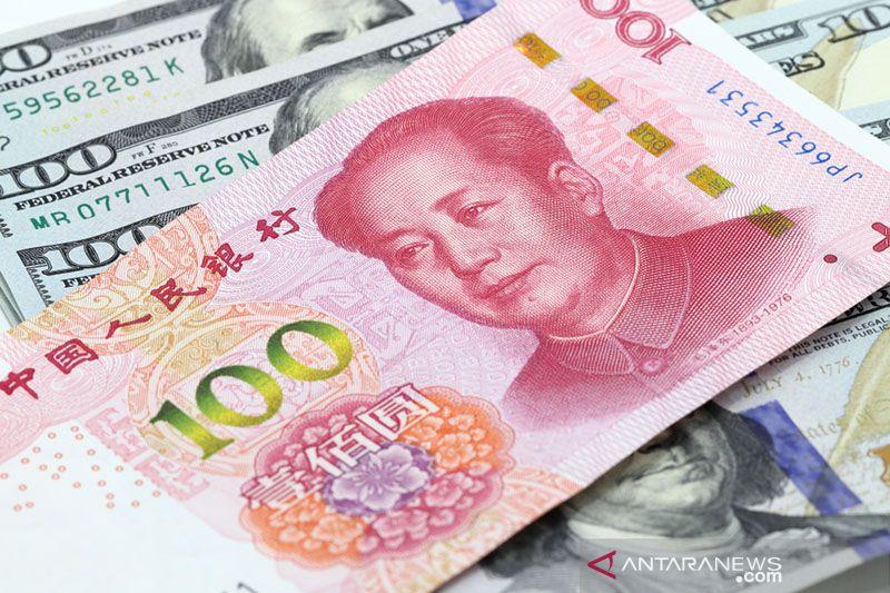 Yuan   menguat 124 basis poin