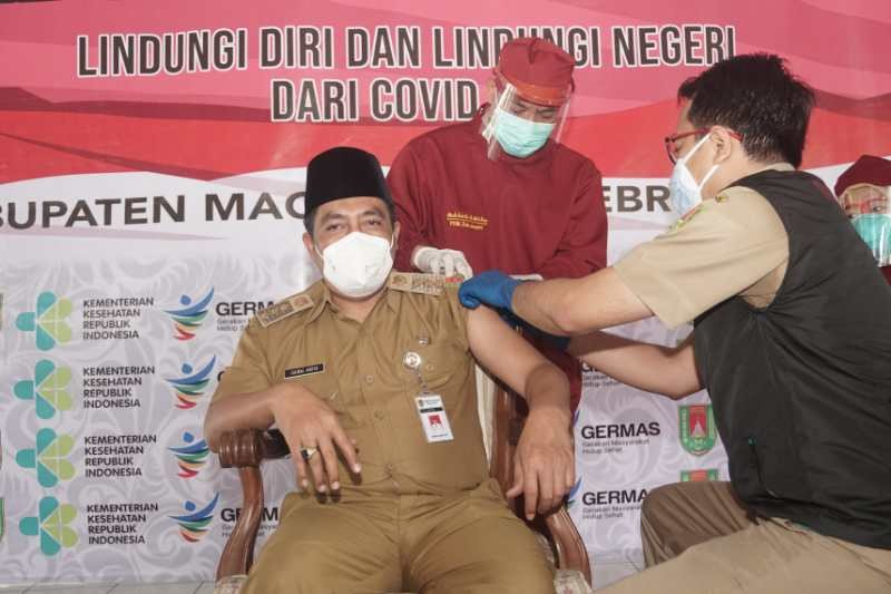 2.244 orang ditargetkan terima vaksin dosis kedua di Kabupaten Magelang