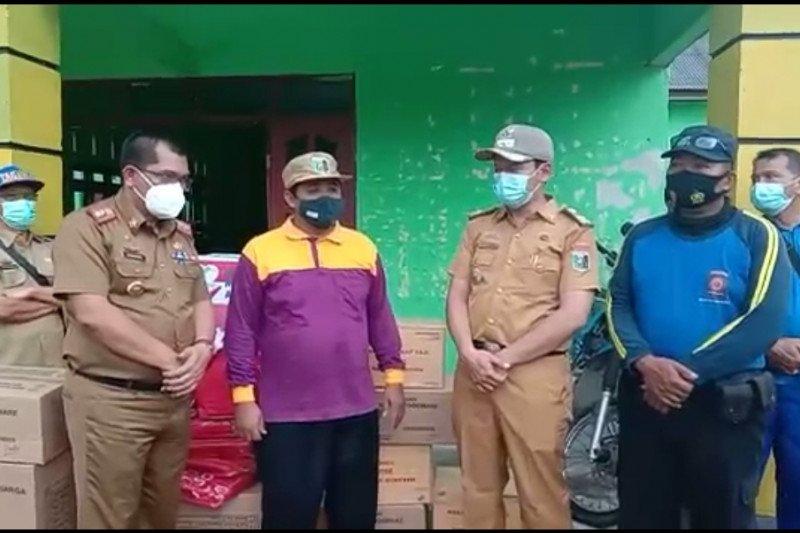 Desa Karya Makmur di Lampung Timur diterjang angin kencang, 12 rumah rusak ringan