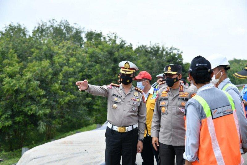 Tol Cipali amblas Korlantas terapkan lawan arus di KM 117-126