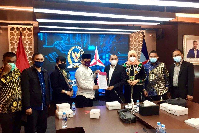 Dukung Pilkada 2022, Fraksi Demokrat DPR RI Terima Kunjungan Komisi I DPR Aceh
