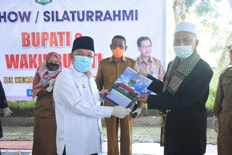 Bupati Lombok Utara roadshow pamitan di Kecamatan Pemenang