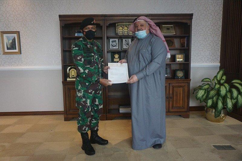 Mayjen Tugas Ratmono dapat apresiasi dari Dubes Saudi atas penanganan COVID-19 di Wisma Atlet