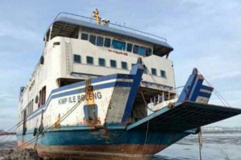 KMP Ile Boleng tak lagi beroperasi, ini penjelasan Dishub NTT...