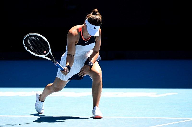 Tersingkir di Australian Open, Andreescu tetap percaya diri