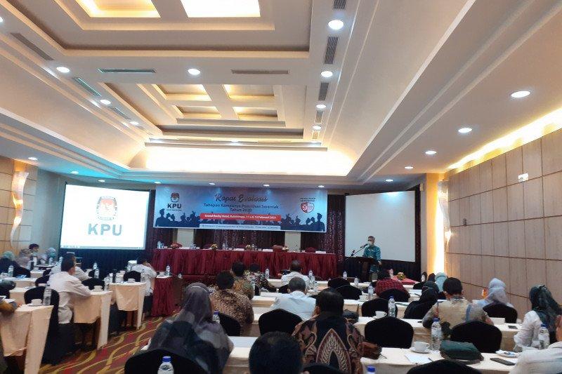 KPU Sumbar evaluasi tahapan kampanye pemilihan serentak 2020