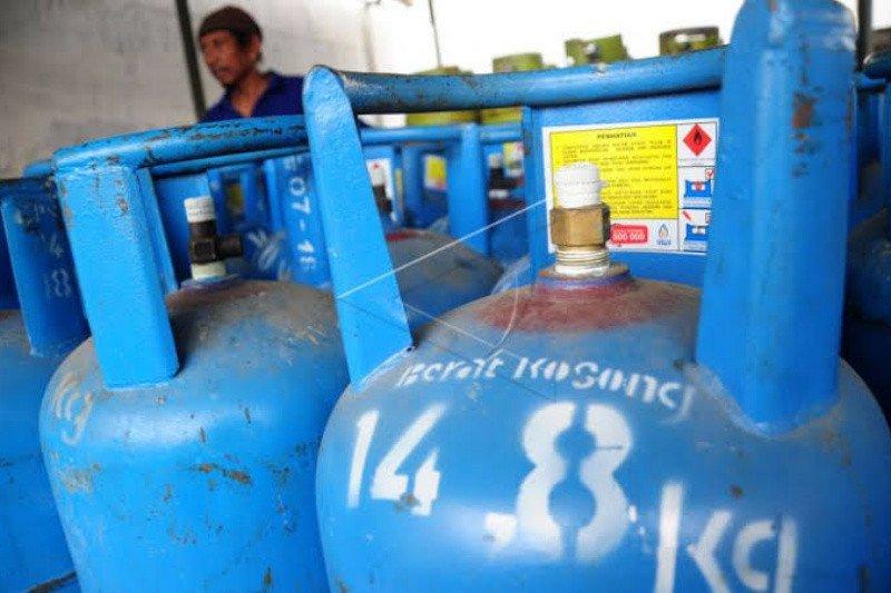 Omzet agen elpiji nonsubsidi di Bantul turun 40 persen saat pandemi