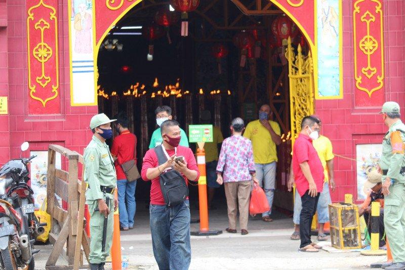 Ibadah Imlek 2572 Kongzili di Lampung dilakukan sesuai prokes