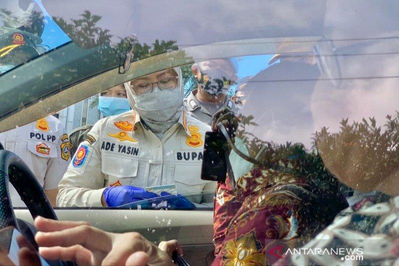 Satgas COVID-19 Bogor putar balik ratusan kendaraan di Jalur Puncak