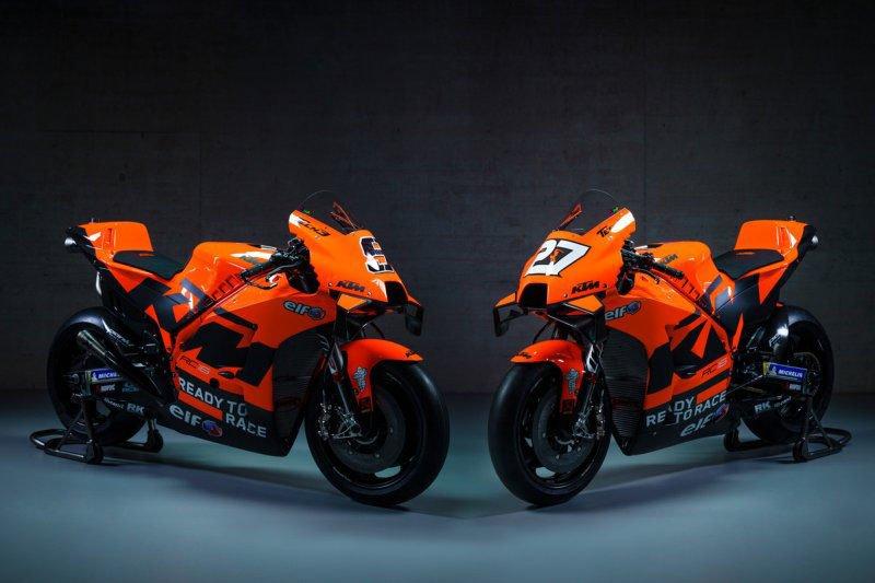 Ini motor KTM  untuk balapan MotoGP 2021