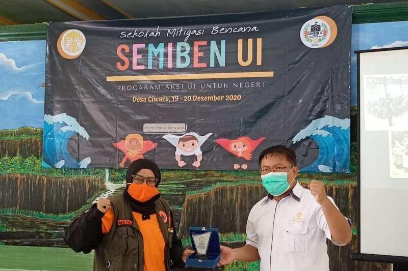 FMIPA-UI latih siswa SMP di Sukabumi siaga bencana alam