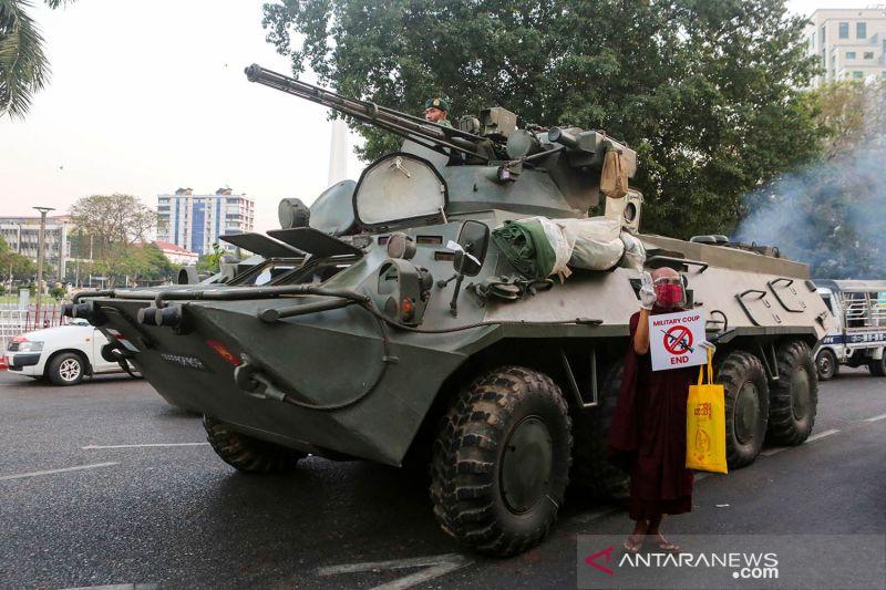 """Kedubes Negara Barat minta militer Myanmar agar """"menahan diri"""""""