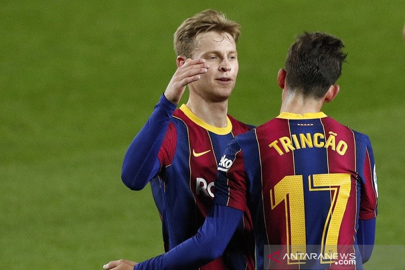 Trincao ketagihan cetak gol saat Barca hantam Alaves