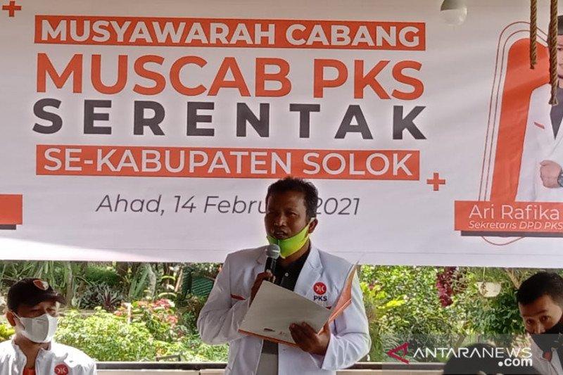 PKS Kabupaten Solok targetkan raih tujuh kursi di Pileg 2024 mendatang