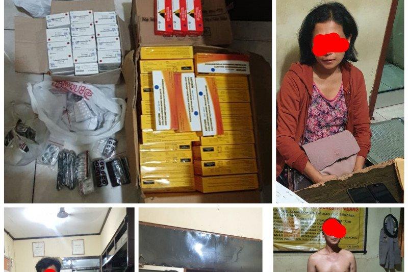 Polisi sebut penjual obat keras aborsi beroperasi sejak 2018