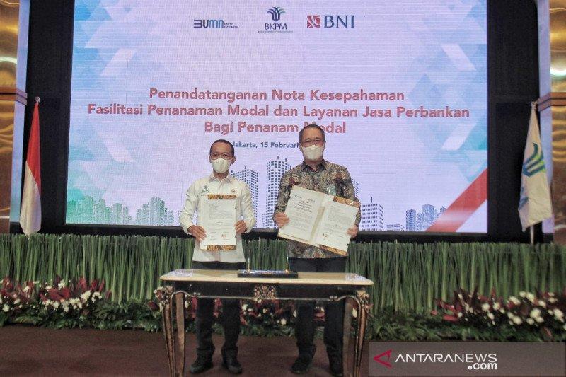 BNI dan BKPM sinergi mudahkan investasi melalui jasa perbankan