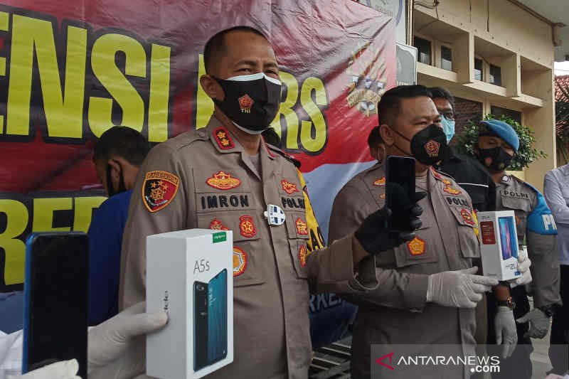Polisi tangkap dua begal di Cirebon baru keluar penjara
