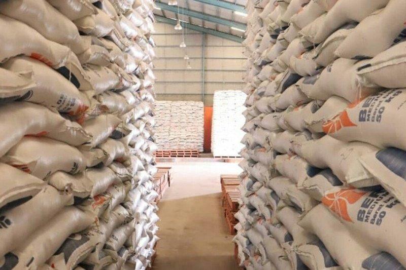 Bulog serap 65 ribu ton beras petani Lampung