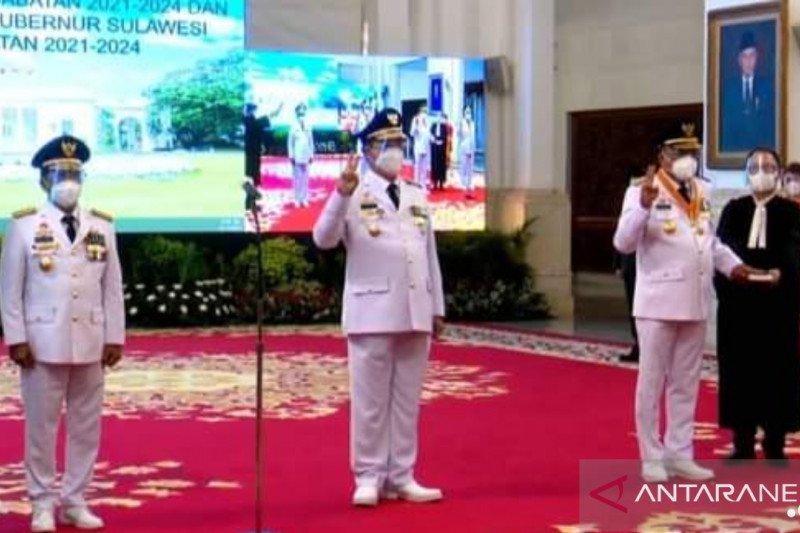 Presiden melantik Zainal - Yansen sebagai Gubernur dan Wagub Kaltara