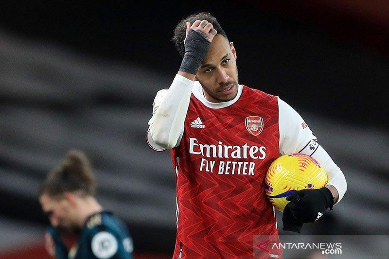 Diduga langgar protokol COVID-19, Arsenal selidiki Aubameyang