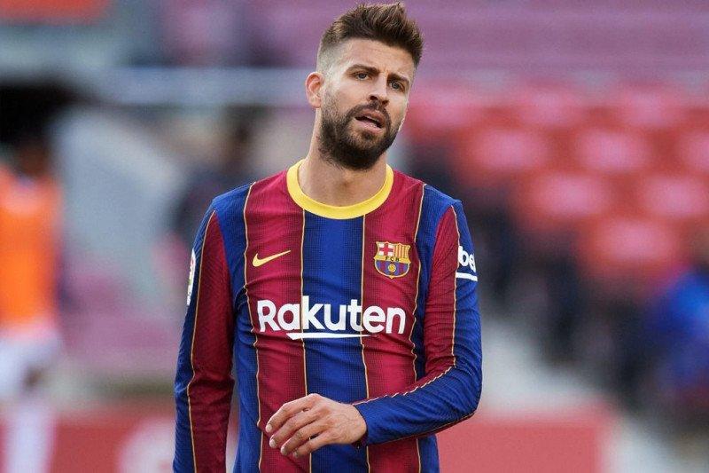 Bek Barcelona Gerard Pique terancam absen tiga pekan karena cedera - ANTARA  News