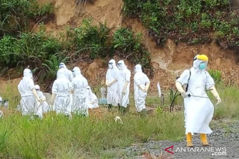 Tiga pasien positif COVID-19 meninggal dunia di Tarakan