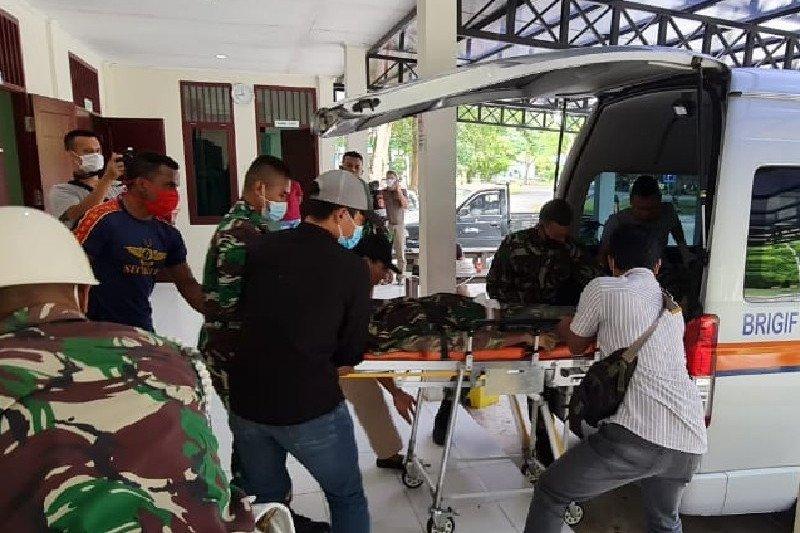 Jenazah anggota Yonif 400/BR asal Jabar diterbangkan ke  Jakarta