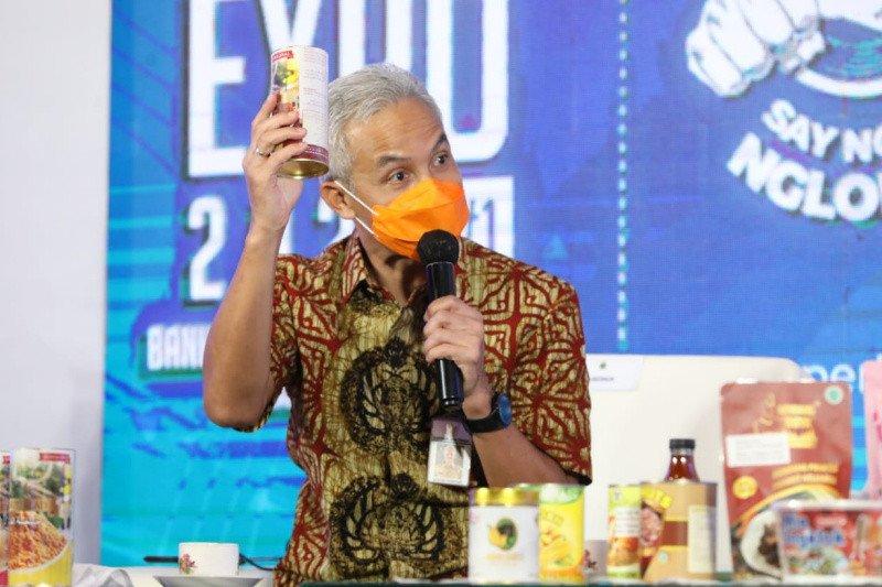 Saat pandemi, Jateng gelar UKM Virtual Expo 2021 genjot perekonomian