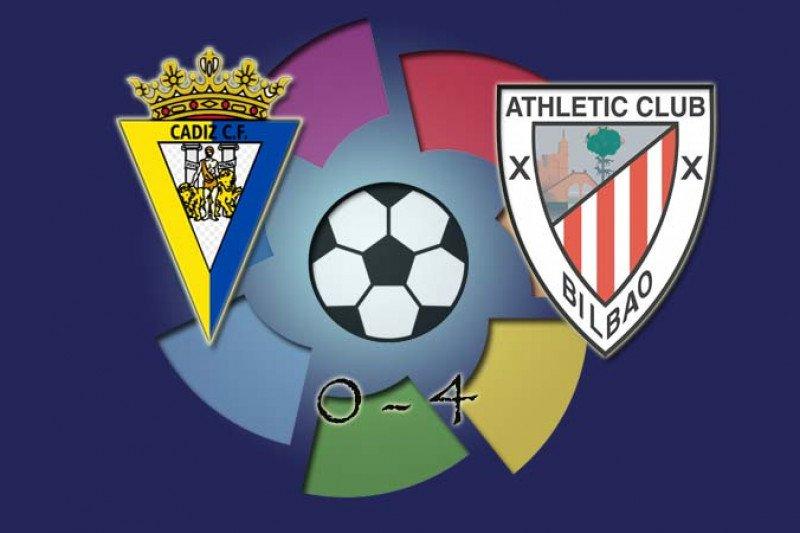 Athletic Bilbao masuk sepuluh besar usai pecundangi Cadiz