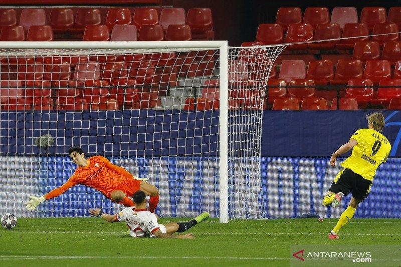 Erling Haaland bawa Dortmund pecundangi Sevilla