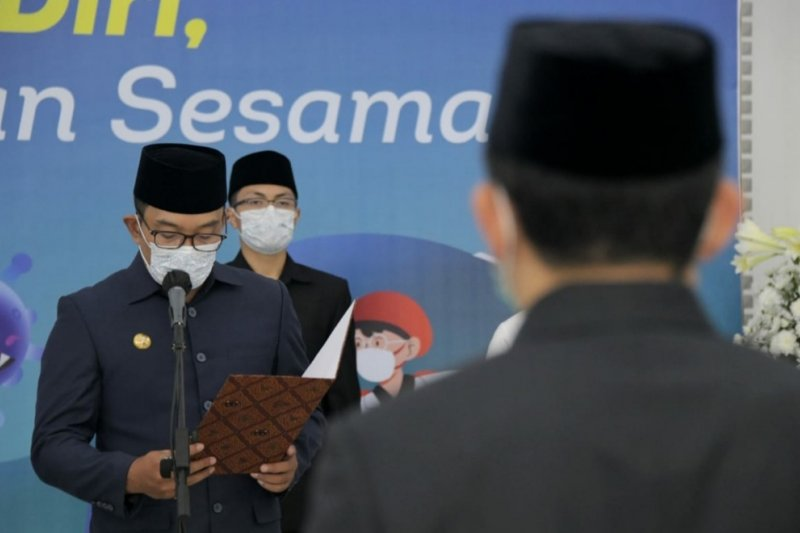 Gubernur  lantik 545 pejabat di Pemprov Jabar