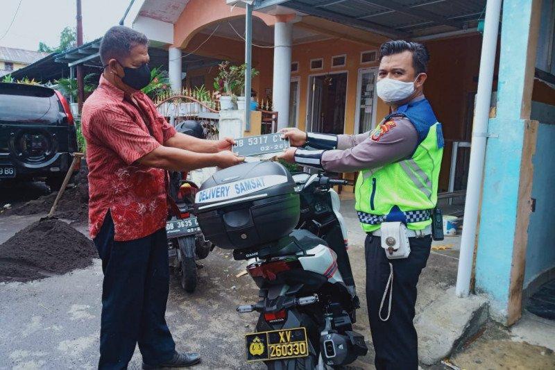 """Polres Bitung lakukan inovasi layanan """"Samsat Delivery"""""""