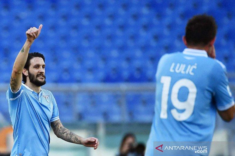 Gol tunggal Luis Alberto kunci kemenangan Lazio atas Sampdoria