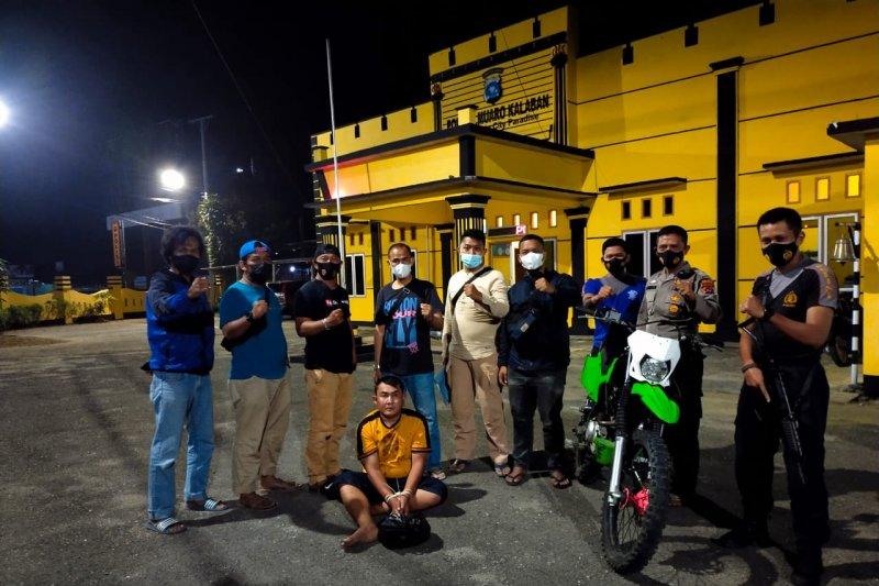 Polisi gadungan NY ditangkap di Sawahlunto