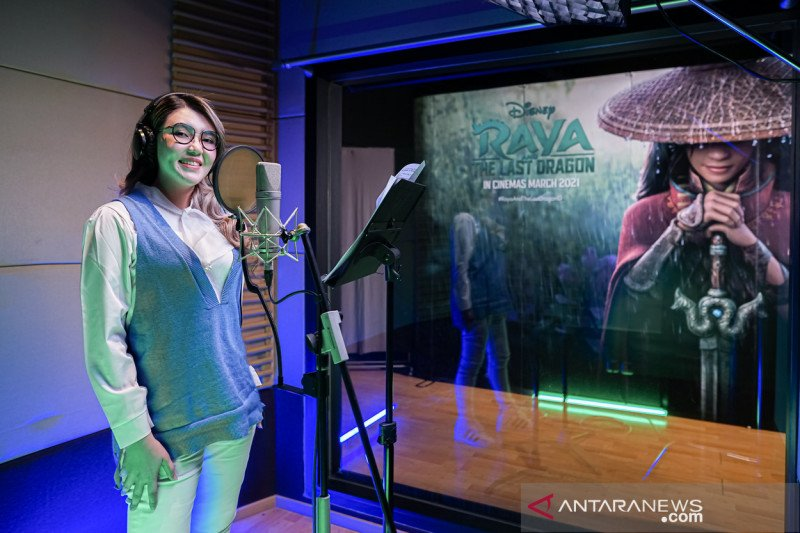"Via Vallen menyanyikan OST ""Raya and the Last Dragon"" versi Indonesia"