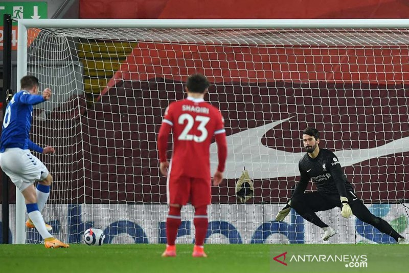 Everton perpanjang kekalahan beruntun Liverpool