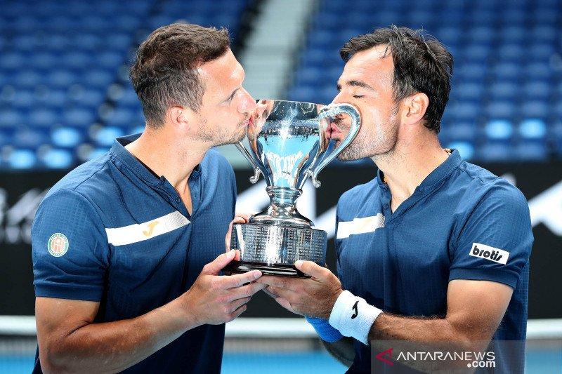 Dodig/Polasek juara ganda putra Australian Open