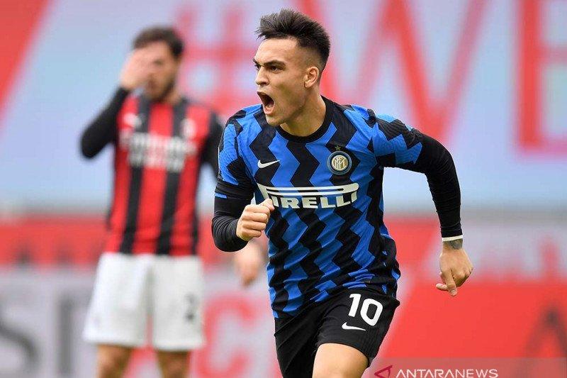 Inter pecundangi Milan 3-0