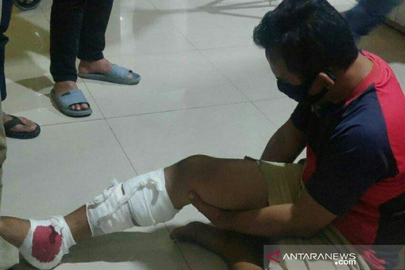 Polisi tembak kaki pelaku penculik anak di Palembang
