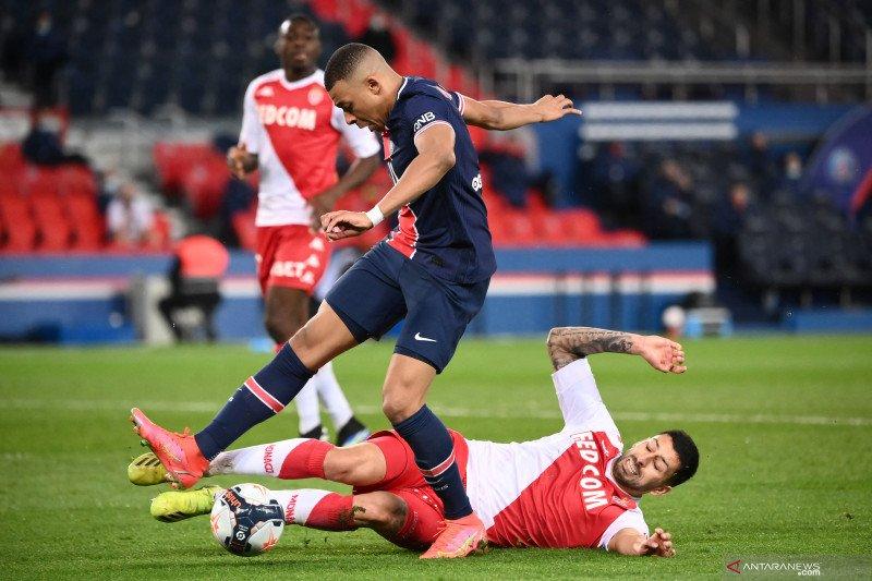 Gawat, PSG dipecundangi Monaco 2-0 di kandangnya sendiri