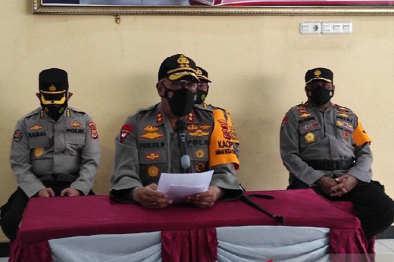 Kapolda Papua sebut tiga polres masuk daerah merah gangguan KKB