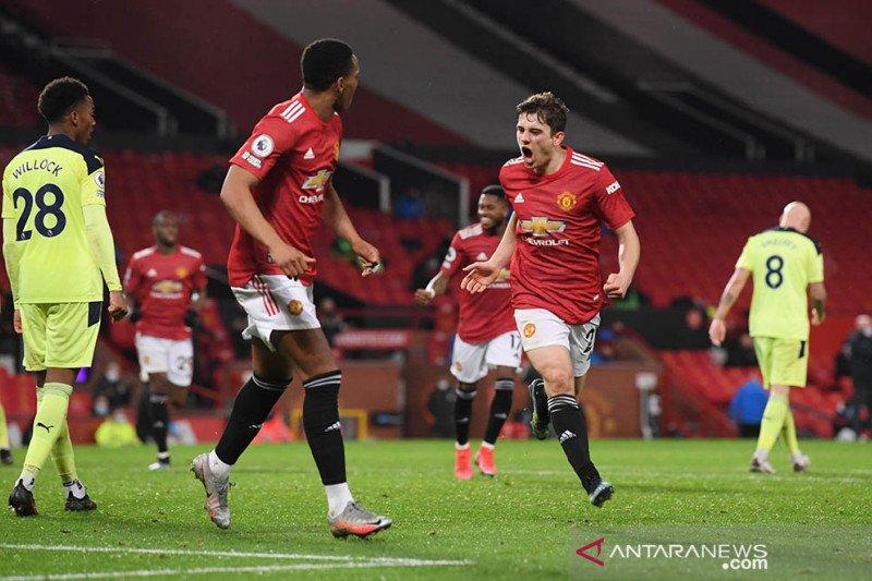 MU rebut kembali posisi kedua berkat kemenangan atas Newcastle