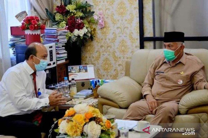 Wali Kota Padang Laporkan SPT Tahunan PPh